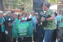 Climate Choir at Climate Crisis Rally - IMG_7582