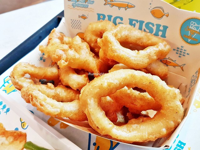 Fried Calamari Squid Rings