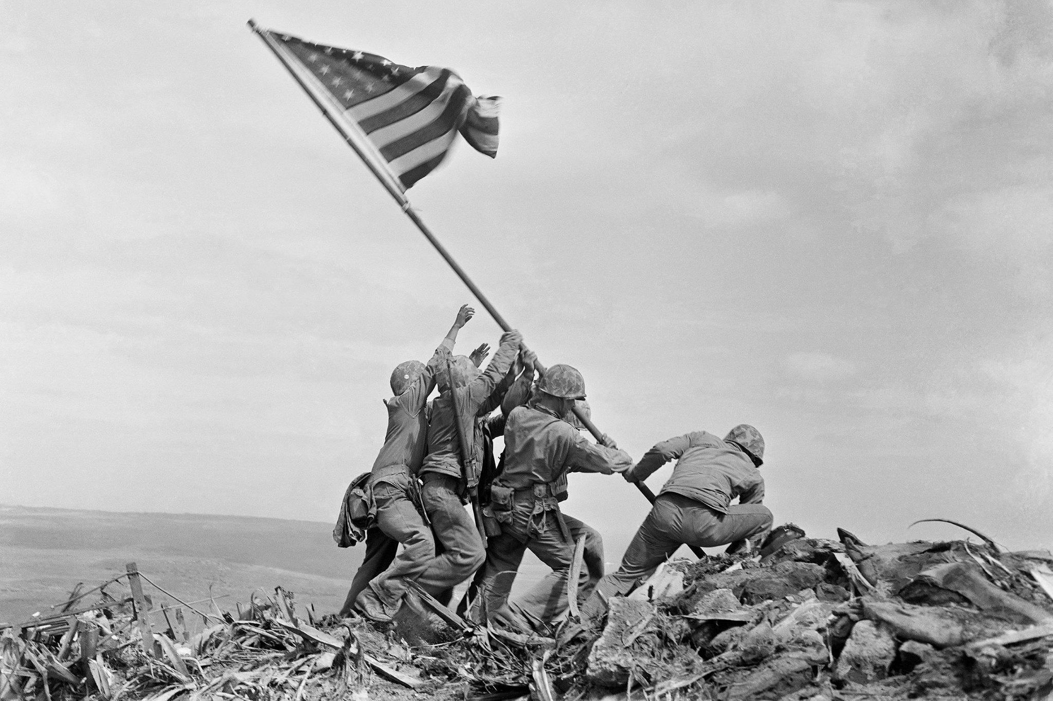 Second Flag Raising