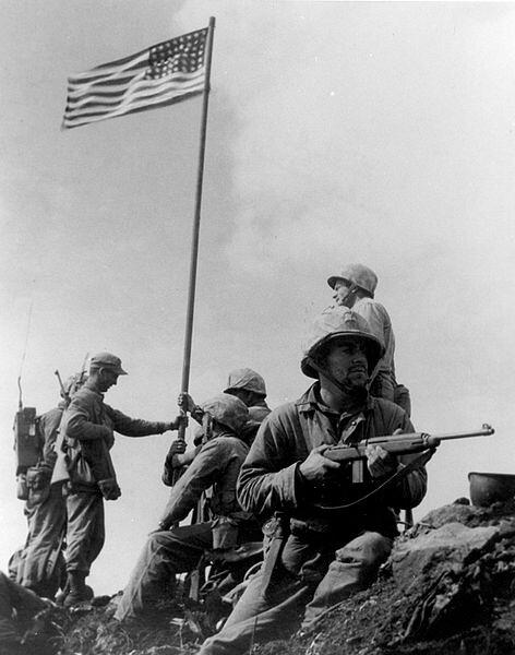 First Flag Raising
