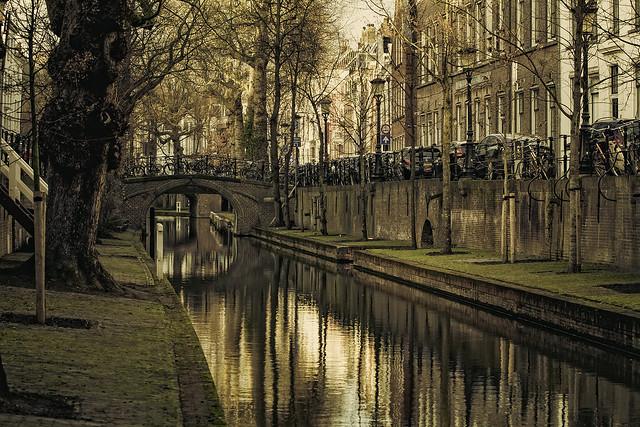 The canals of Utrecht