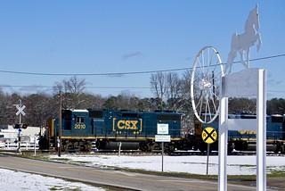 CSX at Henderson, NC
