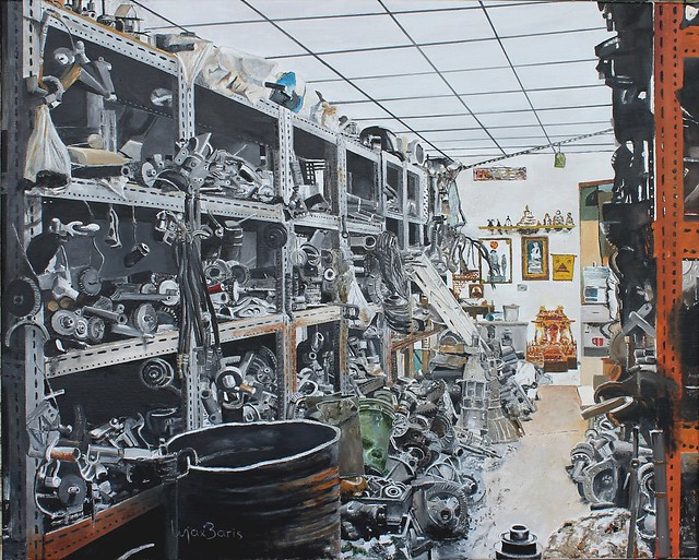 The second hand Car Parts Store