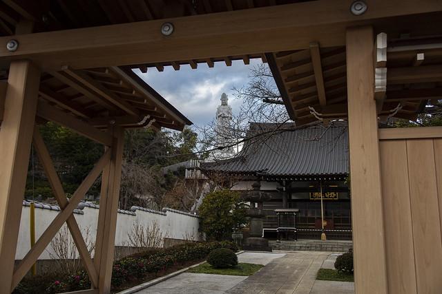 A Temple In Kiyose, Tokyo