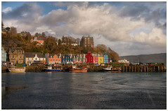 Tobermory in the winter
