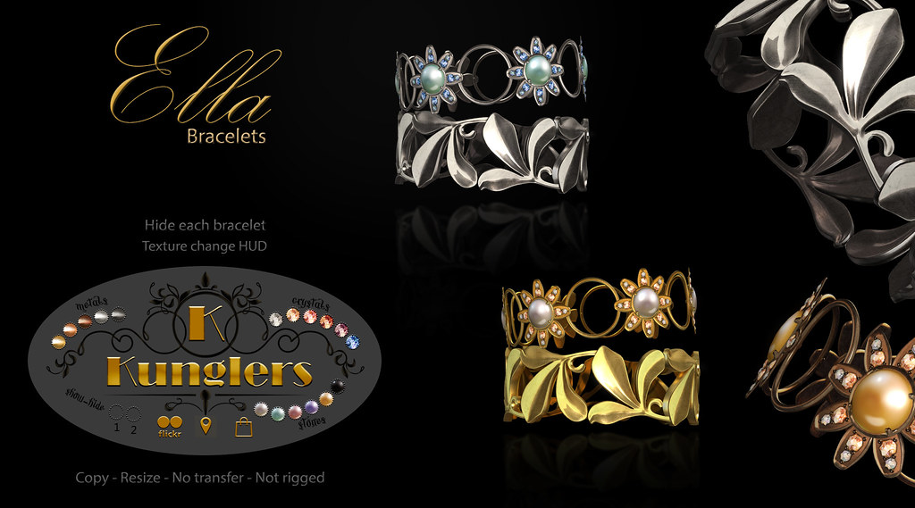 KUNGLERS – Ella bracelets