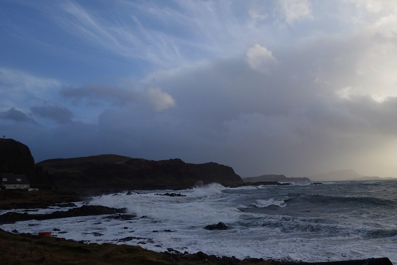 Wild weather on the Isle of Seil