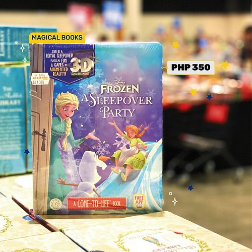 Augmented Reality Books at the Big Bad Wolf Book Sale 2020