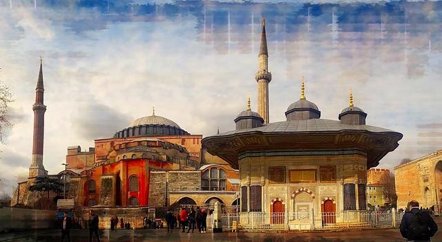 Istanbul topkapi sophia