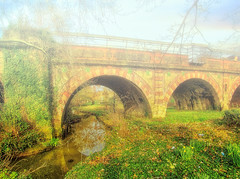 """Pretty down by the railway bridge"""