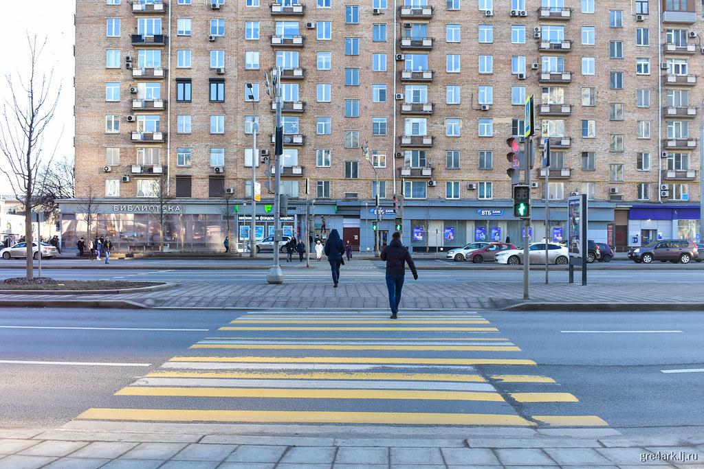 Тоже Москва, тоже без заборов