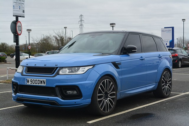 Land Rover Range Rover Sport 4.4 SDV8 Autobiography Dynamic