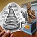 Pencil Vs Camera - TMB Banker Awards - Trust Merchant Bank - Banque TMB - Kinshasa, Republique Democratique du Congo - Ben Heine Art