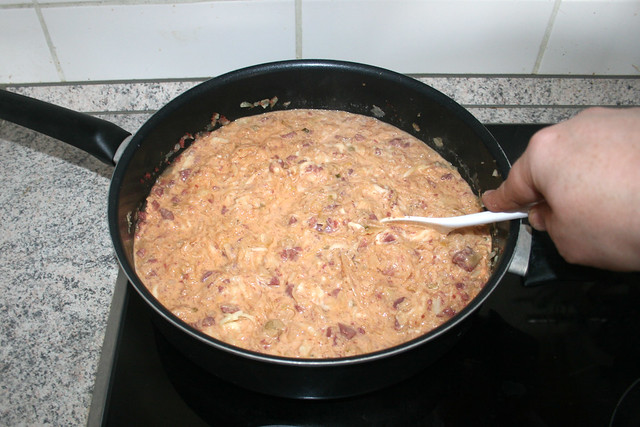 30 - Käse schmelzen lassen / Let cheese melt