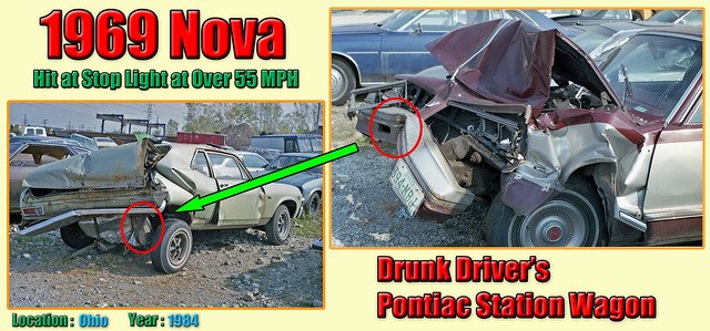 1969 Chevy Nova Wrecked by a Drunk Driver in 1984 (#2)
