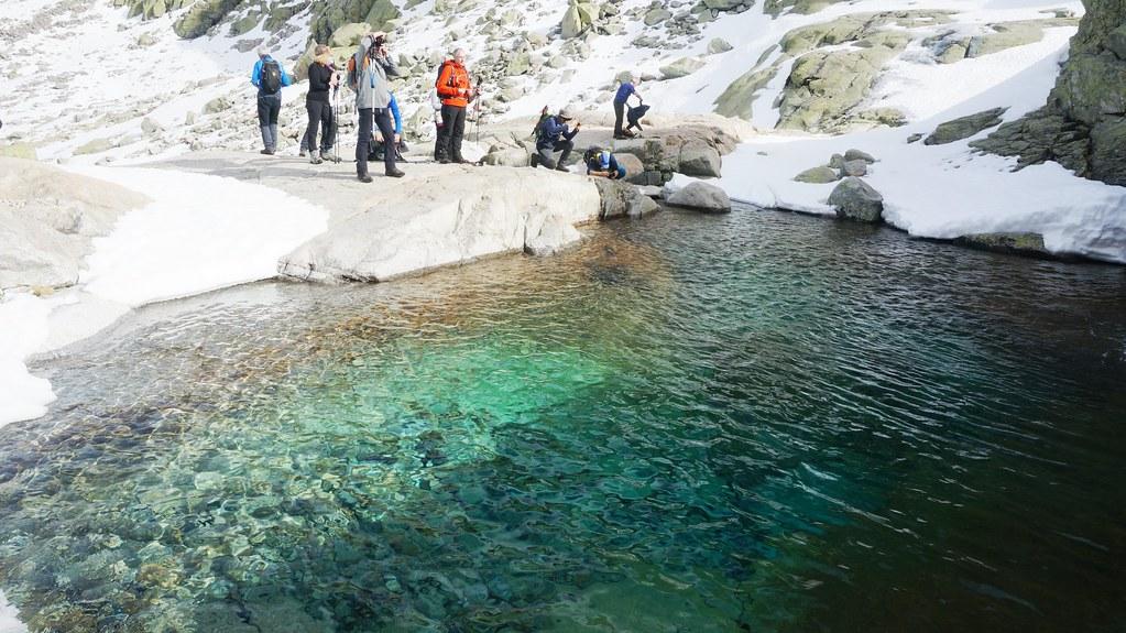 MARCHA-0584 Senderismo por Laguna Grande de Gredos por Barrerones en Avila