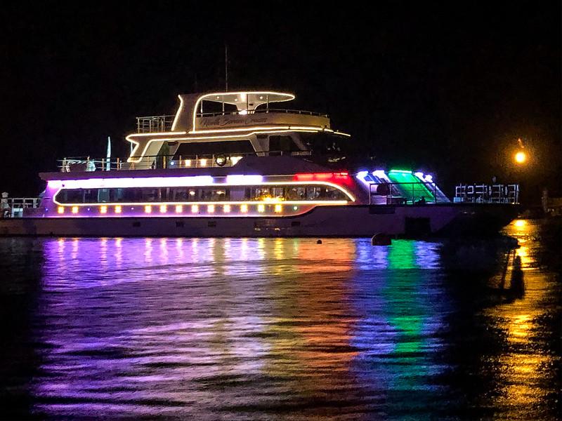Rainbow boat
