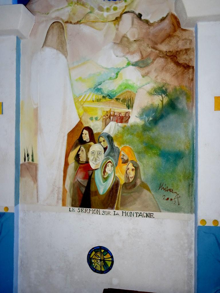 Interieur de la Chapelle Sainte Marguerite VentiseriDSC01617