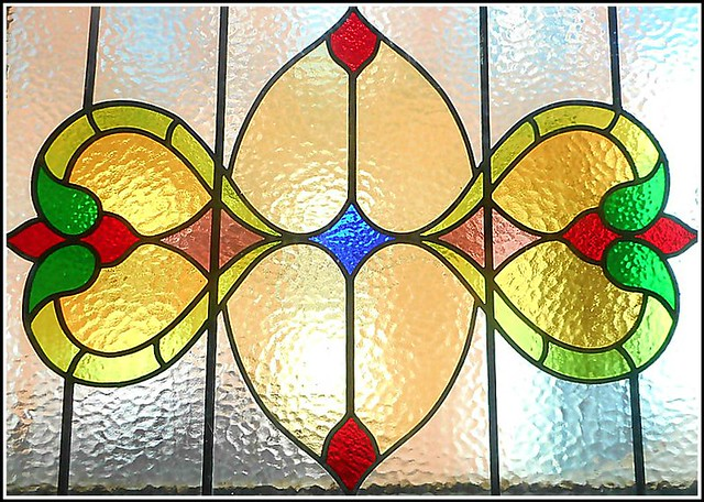 Stained Glass Window .