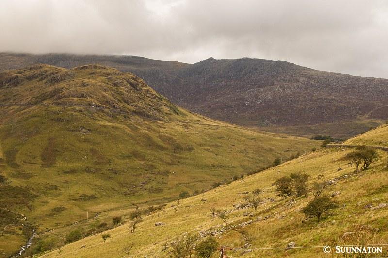 Snowdonian kansallispuisto, nummimaisema