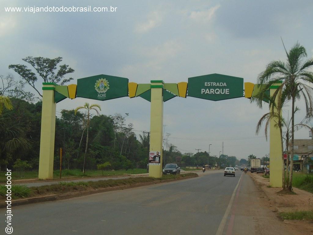 Rio Branco - Portal do Parque Ambiental Chico Mendes