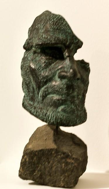 Self-Portrait Fragmengt] (1957) Hein Semke (1899-1995)