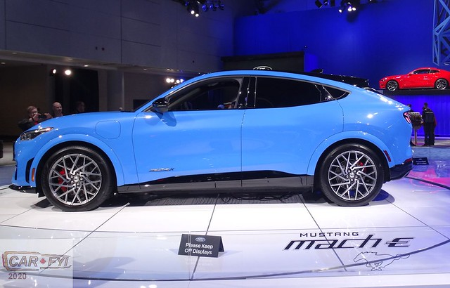 Ford Mustang Mach E at 2020 CIAS