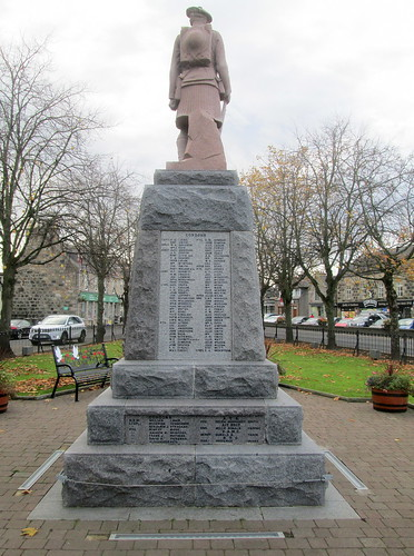 Inverurie War Memorial from North