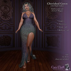 CCD-Cherished Gown AD Embroidered Jewel Magic