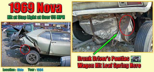 1969 Chevy Nova Wrecked by a Drunk Driver in 1984 (#3)