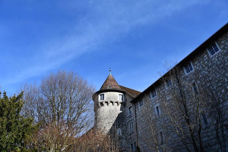 Solothurn Altstadt wall 22.02.2020