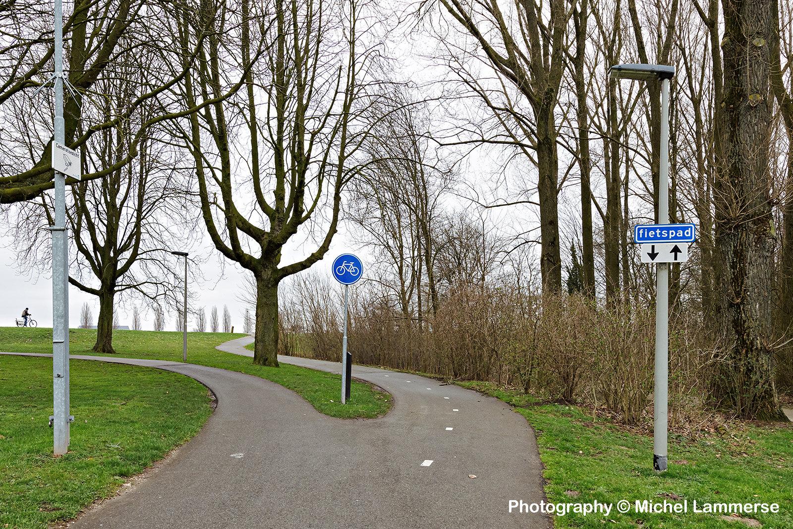 fietspad naar Bandijk