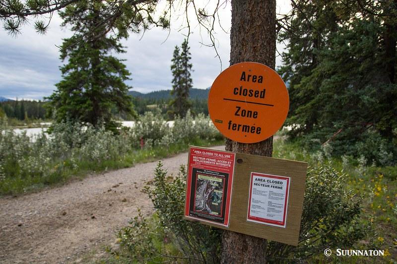 Suljettu alue, Jasper National Park