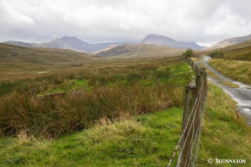 Snowdonian kansallispuisto, nummimaisemat