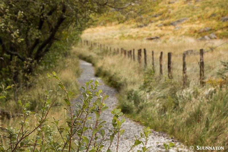 Snowdonian kansallispuisto, vaellusreitti