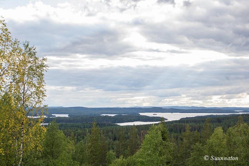 Etelä-Konneveden kansallispuisto, maisema
