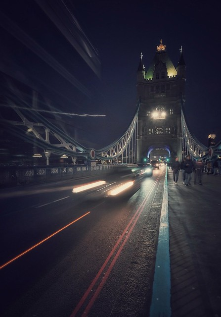At the Tower Bridge