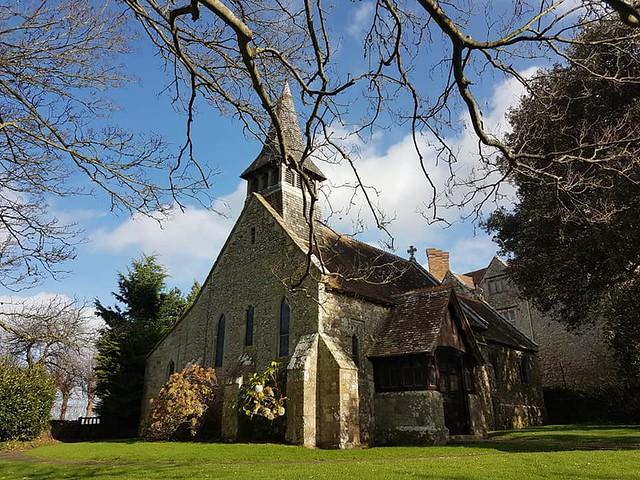 St Johnthe Baptist Church, Yaverland Isle of Wight 3