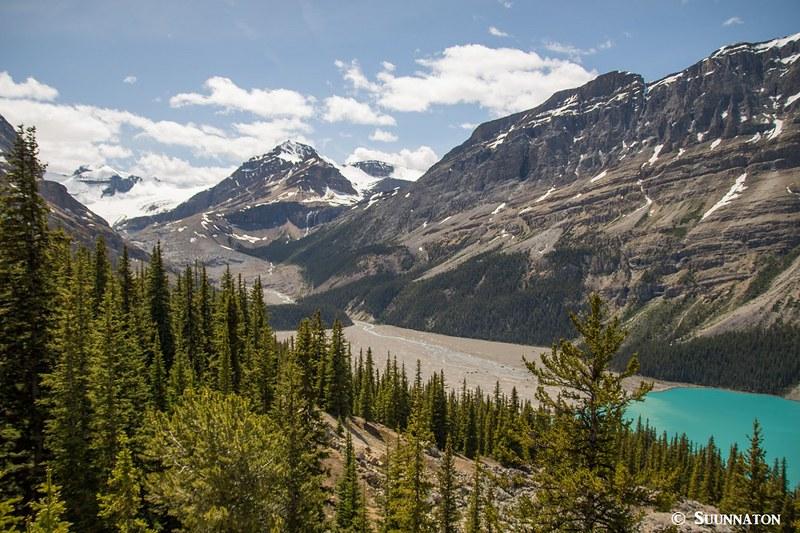 Kanadan Kalliovuorten jäätikköjärvet