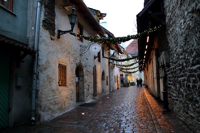 Tallinna joulukuussa