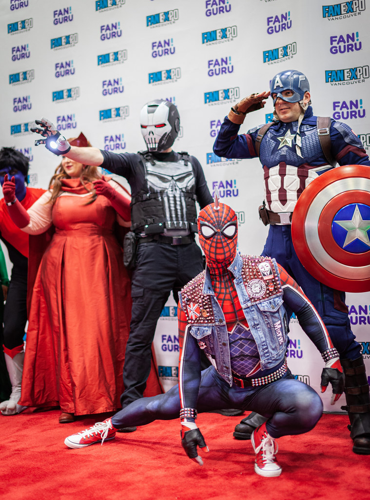 Marvel cosplay at Vancouver Fan Expo