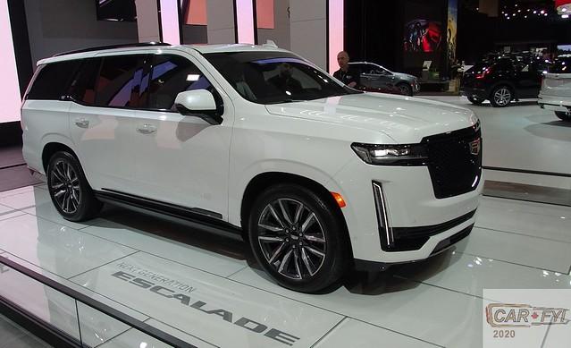 2021 Cadillac Esscalade at 2020 CIAS