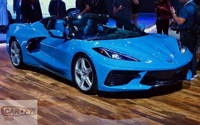2020 Chevrolet Corvette Convertible at 2020 CIAS