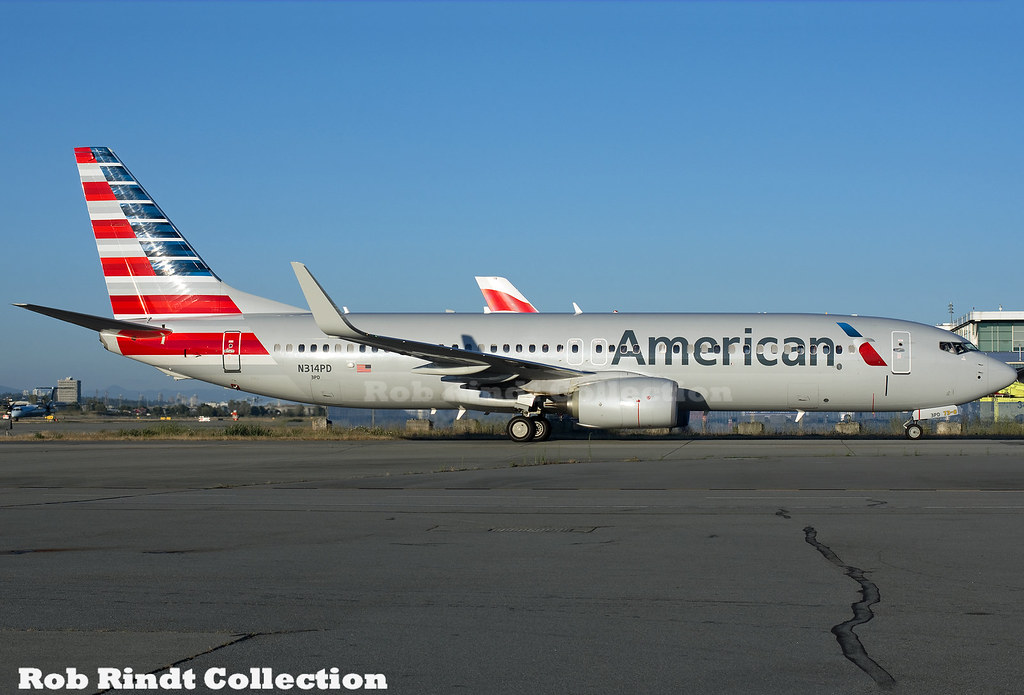 American Airlines B737-823(winglets) N314PD