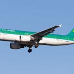 London Heathrow Airport: Aer Lingus (EI / EIN)    Airbus A320-214 A320   EI-DVJ   MSN 3857