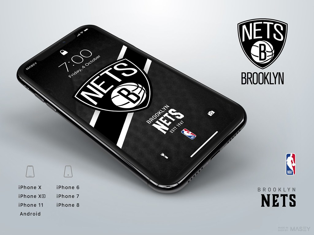 Brooklyn Nets iPhone Wallpaper