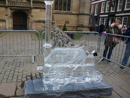 Ice Sculpture Trail - York