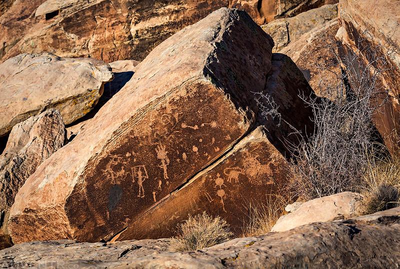 Petroglyphs Below