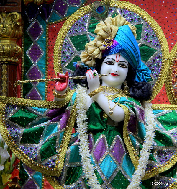 ISKCON Juhu Mangal Deity Darshan on 23rd Feb 2020