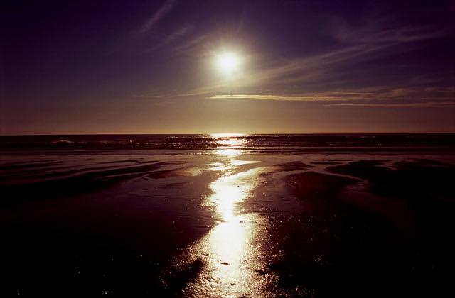 Karekare Sunset  (Velvia 100)